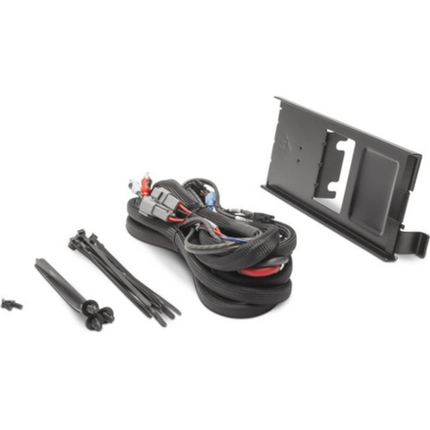 Rockford Fosgate Dual amp kit and mounting plate for select Polaris Ranger models (RFRNGR-K8) - Extreme Electronics