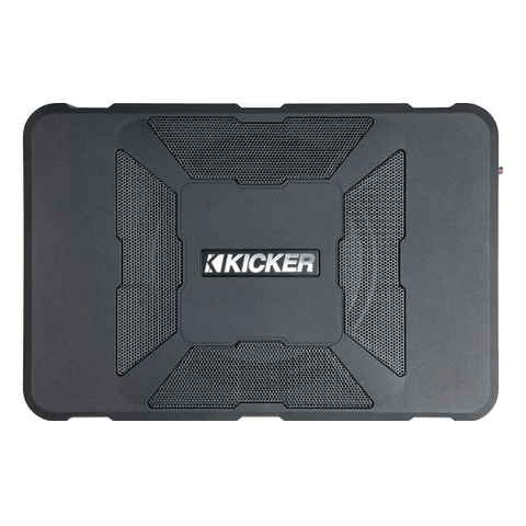 "KICKER Hideaway™ Compact Powered 8"" Subwoofer Enclosure (11HS8) - Extreme Electronics"