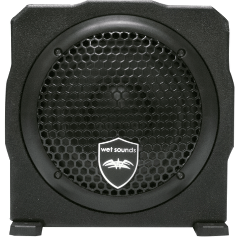 "WET SOUNDS 6.5"" 250 Watt RMS Amplified Subwoofer Enclosure (STEALTHAS6) - Extreme Electronics"
