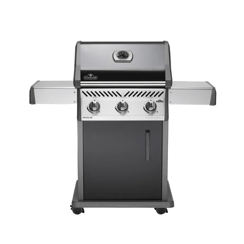 NAPOLEON Rogue® 425 Natural Gas Grill With Infrared Side Burner, Black (R425SIBNBE) - Extreme Electronics