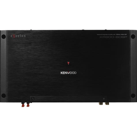 Kenwood 6-channel car amplifier with digital signal processing (XR6006DSP) - Extreme Electronics