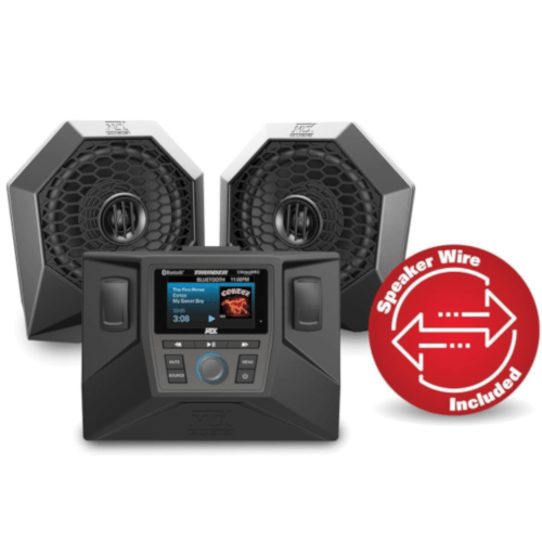 MTX AUDIO Two Speaker Polaris RZR Audio System (RZRSYSTEM1) - Extreme Electronics