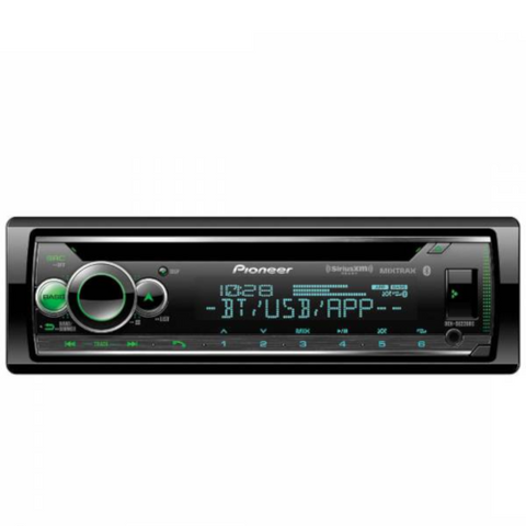PIONEER CD Receiver With Audio Functions And Smart Sync App Compatibility (DEHS6200BS) - Extreme Electronics