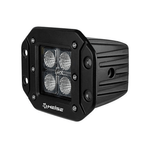 "HEISE Cree 3"" 4 LED Flush Mount Cube Light (HEFMCL2) - Extreme Electronics"