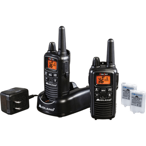 MIDLAND 36 Channel 2-Way Radios, Pair (MDLLXT600VP3) - Extreme Electronics