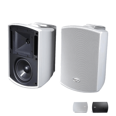 "KLIPSCH All Weather 5.25"" Indoor/Outdoor Speakers, Pair (AW525) - Extreme Electronics"