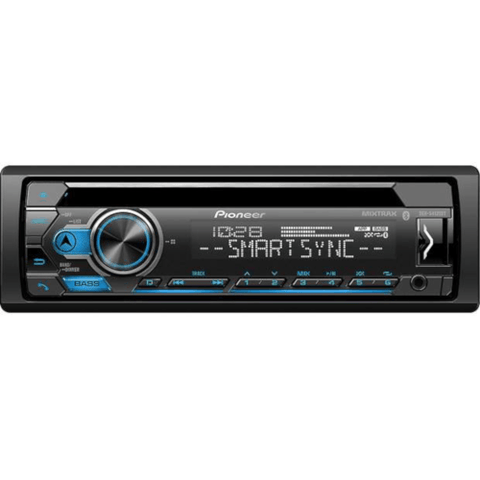 PIONEER CD Receiver With Smart Sync App Compatibility (DEHS4200BT) - Extreme Electronics