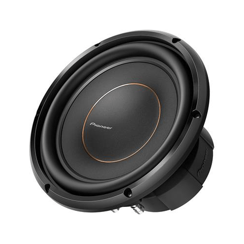 "Pioneer D Series HIGH PERFORMANCE 10"" Subwoofer with Dual 4 ohm voice coils (TSD10D4) - Extreme Electronics"