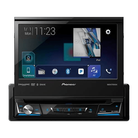 "PIONEER 7"" Fold Out Touch Screen Receiver with Bluetooth, Android Auto, and Apple CarPlay (AVH3500NEX) - Extreme Electronics"