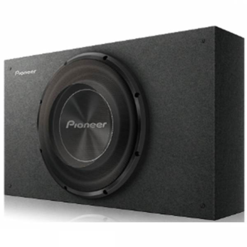 "PIONEER 10"" Shallow Mount Pre loaded Enclosure (TS-A2500LB) - Extreme Electronics"