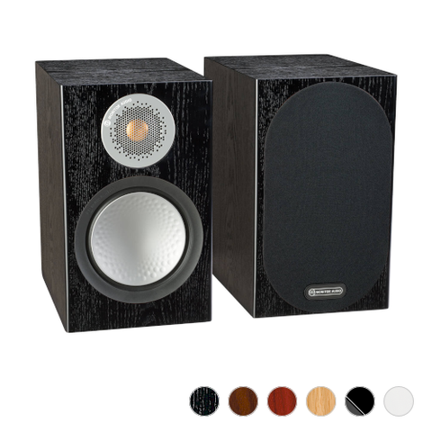 MONITOR AUDIO Silver 100 Bookshelf Speakers, Pair - Extreme Electronics