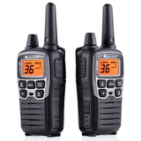 MIDLAND X-Talk Black Radios Up To 38 Miles, Pair (T71VP3) - Extreme Electronics
