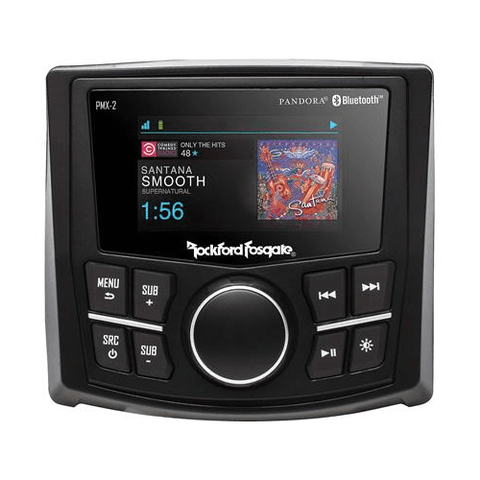 ROCKFORD FOSGATE Marine Digital Media Receiver with Bluetooth®, DOES NOT PLAY CDS (PMX2) - Extreme Electronics