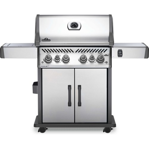 Napoleon Rogue® SE 525 Natural Gas Grill with Infrared Rear and Side Burners, Stainless Steel (RSE525RSIBNSS-1)