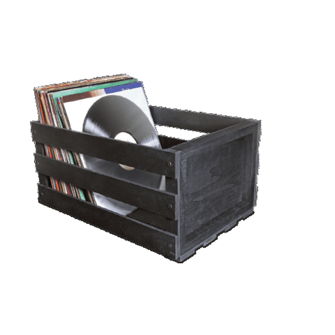 Ultralink Record Storage Crate, Black (ULPRC) - Extreme Electronics