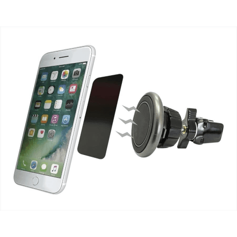 IQ MAGNETIC CAR VENT MOUNT WITH METAL PLATES (IQMAGMNT)