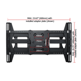 "STONG™ Contractor Series 30"" Extension Universal Articulating Mount With Dual Arms, 37""-70"" Displays - Extreme Electronics"