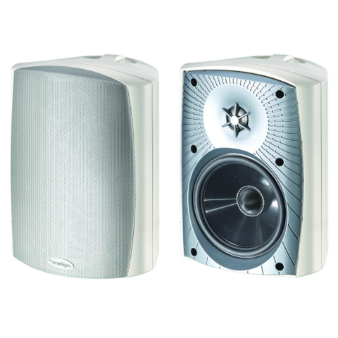 "PARADIGM White 2-Way 5 1/2"" Acoustic Outdoor Speakers, pair (STYLUS270WHITE) - Extreme Electronics"