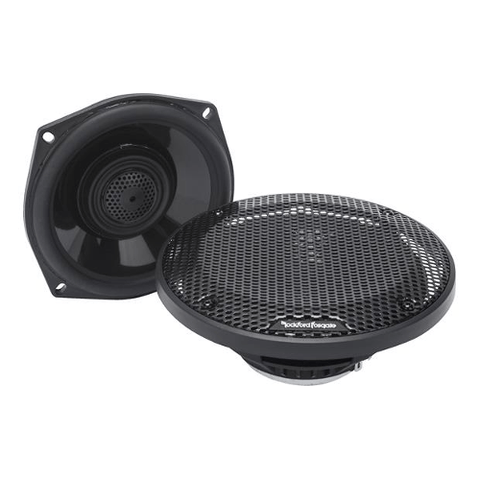 "Rockford Fosgate 5 1/4"" full-range speakers for select 98-13 Harley-Davidson® motorcycles(TMS5) - Extreme Electronics"