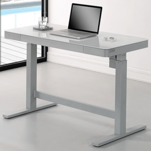 Bello Motorized Adjustable Height Desk - White (OPD1044448D913) - Extreme Electronics