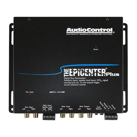 AUDIO CONTROL Epicenter Plus Bass Restoration Processor With Auxiliary Input (EPICENTERPLUS) - Extreme Electronics