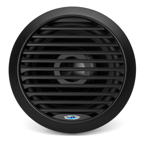Aquatic AV 10″ Pro-Series Black Marine Subwoofer with BLUE LED Lighting (AQSPK104LB) - Extreme Electronics