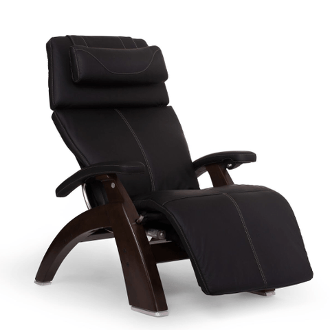 Human Touch Perfect Chair 610 with SofHyde PC Pad and Omni Motion Classic Dark Walnut Base - Extreme Electronics