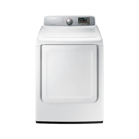 SAMSUNG 7.4 Cu. Ft. Electric Dryer with Sensor Dry, White (DVE45T7000W/AC) - Extreme Electronics