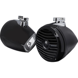 "Rockford Fosgate 6-1/2"" mini wakeboard tower speakers, pair (RM1652W-MB)"