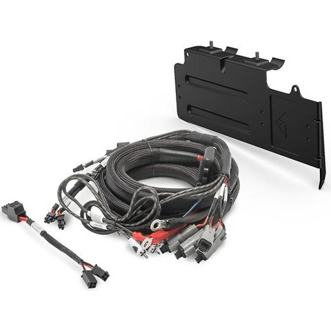 ROCKFORD FOSGATE 4-Gauge Amp Wiring Kit and Mounting Bracket for Select 2017-Up Can-Am® Maverick X3 UTVs (RFX3-K4) - Extreme Electronics