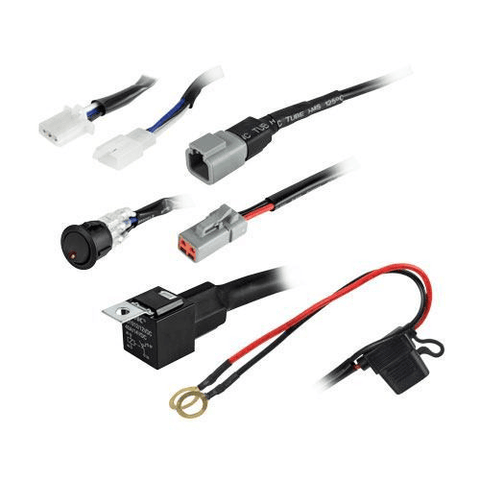 HEISE CREE 1 LAMP ATP WIRING HARNESS & SWITCH KIT - Extreme Electronics - The Best for Less! Brandon, Manitoba