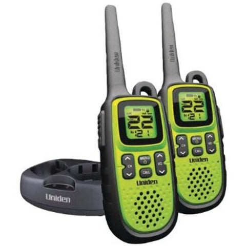 UNIDEN Weather-Resistant 28 Mile Range Two Way Radios, Pair (GMR28382CK) - Extreme Electronics