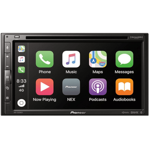 "PIONEER PREMIUM 7"" Multimedia DVD Receiver with Bluetooth SIRIUSXM READY and Apple CarPlay (AVH2550NEX) - Extreme Electronics"