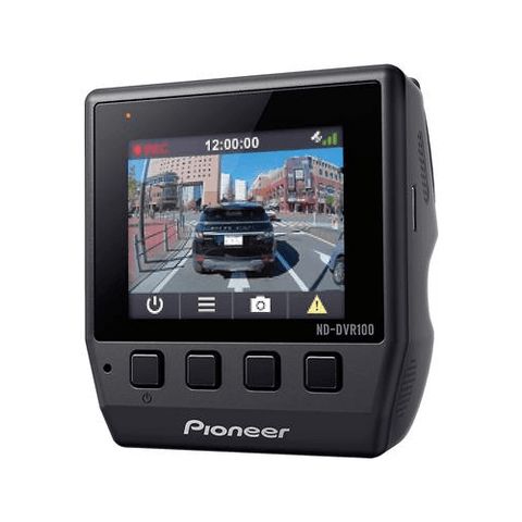 PIONEER High Definition Dash Camera w/ 8GB MicroSD Card (NDDVR100) - Extreme Electronics