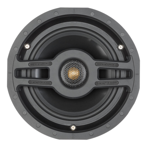 "MONITOR AUDIO Slim 4"" In Ceiling Speaker With Pivoting Tweeter"