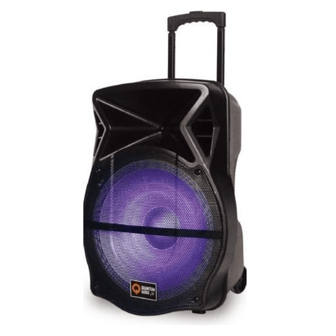"QUANTUM AUDIO 12"" Portable Speaker System (QDJ12WP) - Extreme Electronics"