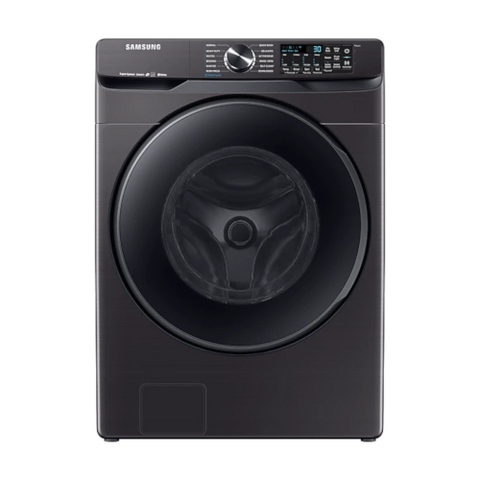 Samsung 5.8 cu.ft. Smart Front Load Washer with Super Speed - Black Stainless Steel (WF50T8500AV/A5) - Extreme Electronics