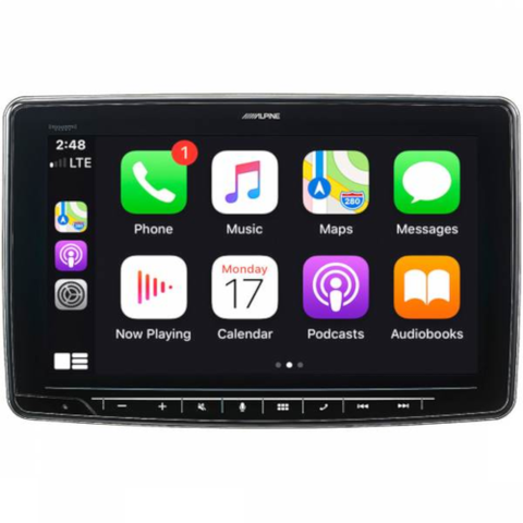 "ALPINE 11"" Digital Multimedia Receiver with Android Auto™ and Apple CarPlay™  (ILX-F411) - Extreme Electronics"