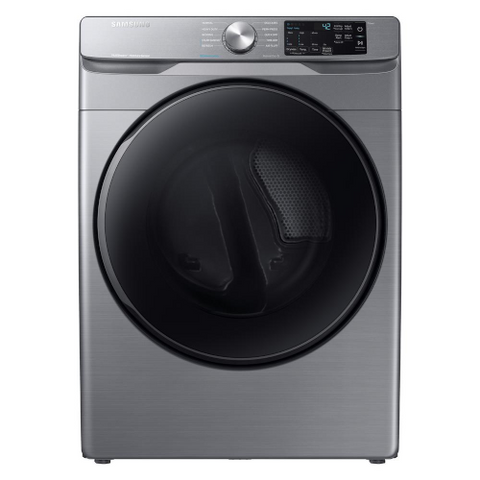 Samsung 7.5 cu. ft. Platinum Gas Dryer with Steam, Platinum (DVG45T6100P/AC) - Extreme Electronics