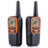 MIDLAND X-TALKER ORANGE RADIOS UP TO 28 MILES, pair (T51VP3) - Extreme Electronics