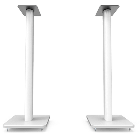 KANTO SP26 White Floor Speaker Stands, Pair (SP26PLW) - Extreme Electronics
