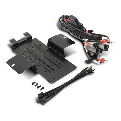 ROCKFORD FOSGATE Amp Wiring Kit and Mounting Plate for Select Yamaha YXZ Models (RFYXZ-K8) - Extreme Electronics