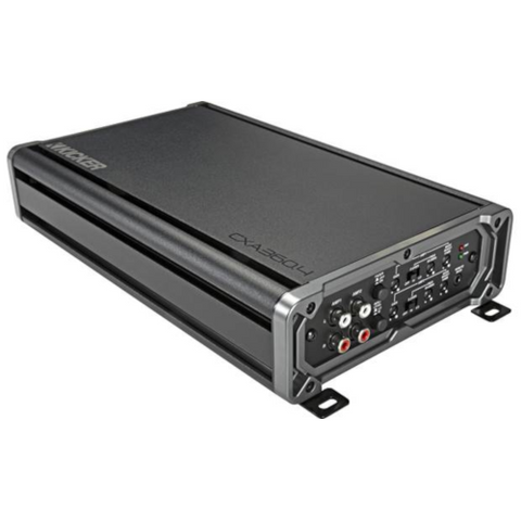 KICKER CX Series 4 Channel Car Amplifier, 65 Watt RMS x 4 (46CXA360.4) - Extreme Electronics