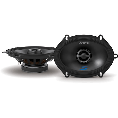 "ALPINE 5""x 7"" 2-Way Car Speakers, Pair (SS57) - Extreme Electronics"