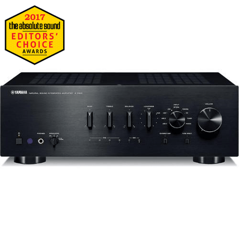 YAMAHA Integrated Amplifier With USB DAC, Black (AS801) - Extreme Electronics