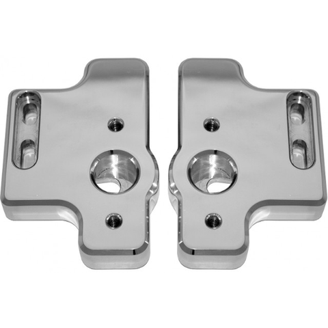 WET SOUNDS ADP Gladiator Polished Tower Adapters, Pair (ADPGLADIATORP) - Extreme Electronics