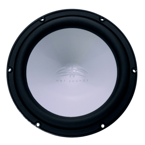 "Wet Sounds Black REVO 12"" 4 ohm High Power Subwoofer, each (REVO12HPS4B) - Extreme Electronics"