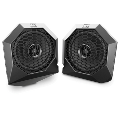 MTX AUDIO Polaris RZR Dash Mount All-Weather Speaker Pods (RZRPOD65) - Extreme Electronics