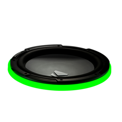 "KICKER Marine 10"" LED Lighted Speaker Ring (47KLSR10) - Extreme Electronics"