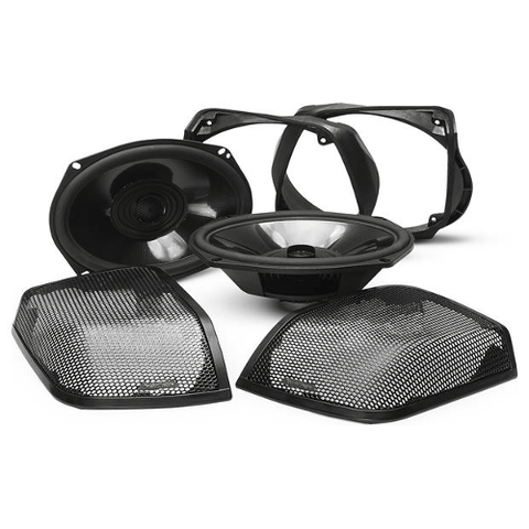 "Rockford Fosgate 6""x9"" full-range speaker kit for select 14-up Harley-Davidson® motorcycles (TMS69BL14) - Extreme Electronics"